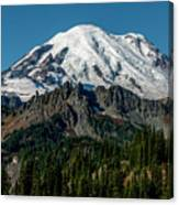 Mount Rainier - Cowilitz Chimneys  Canvas Print