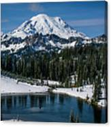 Mount Rainier - Tipsoo Lake Canvas Print