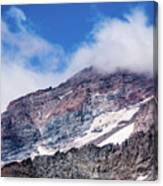 Mount Rainier Closeup Canvas Print