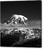 Mount Rainier Canvas Print