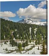 Mount Rainier National Park Tatoosh Range Canvas Print