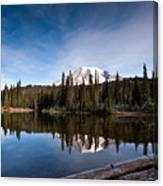 Mount Rainier Reflection Canvas Print