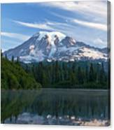 Mount Rainier Reflections Canvas Print