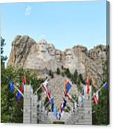 Mount Rushmore Entrance  8713 Canvas Print