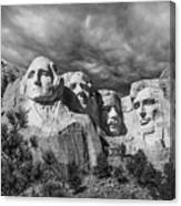 Mount Rushmore II Canvas Print