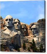 Mount Rushmore In South Dakota Canvas Print