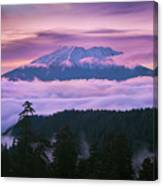 Mount Saint Helens Sunset Canvas Print