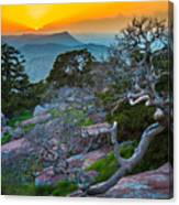 Mount Scott Sunset Canvas Print