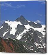 Mount Shuksan In The Cascade Mountains Canvas Print