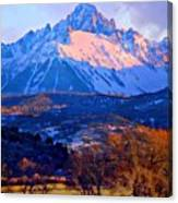 Mount Sneffels  Canvas Print