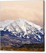 Mount Sopris Canvas Print