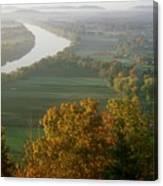 Mount Sugarloaf Autumn Morning Canvas Print