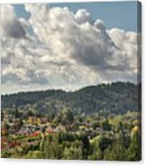 Mount Talbert In Happy Valley Oregon Canvas Print