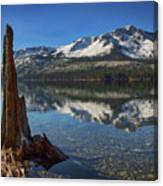 Mount Tallac And Fallen Leaf Lake Canvas Print