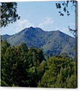 Mount Tamalpais Canvas Print