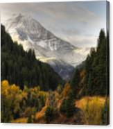 Mount Timpanogos 2 Canvas Print
