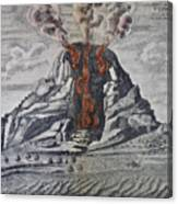 Mount Vesuvius, 1665 Canvas Print