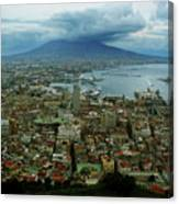 Mount Vesuvius Naples It Canvas Print
