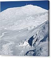 Mount Washington - White Mountain New Hampshire Usa Winter Canvas Print