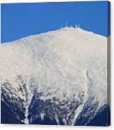 Mount Washington Summit And Weather Observatory Canvas Print