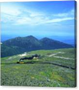 Mount Washington Summit Cog Railroad Canvas Print