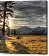 Mountain Afternoon Canvas Print