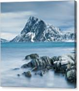 Mountain Blues Canvas Print