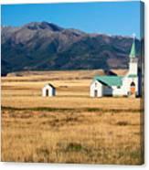 Mountain Chapel Canvas Print