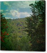 Mountain Clouds Canvas Print