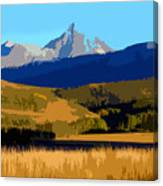 Mountain Country Canvas Print