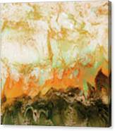 Mountain Flames II Canvas Print