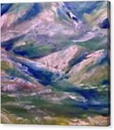 Mountain Gorge Italian Alps Canvas Print