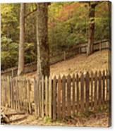 Mountain Graveyard Canvas Print