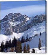 Mountain High - Salt Lake Ut Canvas Print