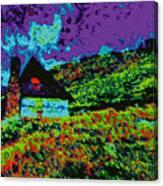 Mountain House D5b Canvas Print