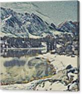 Mountain Lake, California Canvas Print