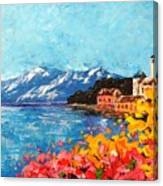 Mountain Lake In Italy Canvas Print