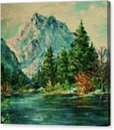 Mountain Lake Canvas Print