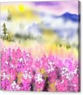 Mountain Landscspe Canvas Print