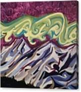 Mountain Lights Canvas Print