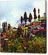 Mountain Living Impasto Canvas Print