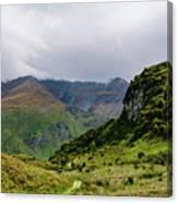 Mountain Path Horiz Canvas Print