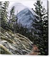 Mountain Pathway Canvas Print