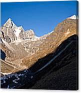 Mountain Peak, Kumuche Himal Canvas Print