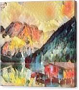 Mountain Retreat Canvas Print