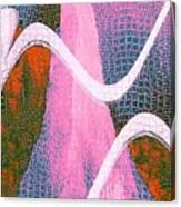 Mountain side II Canvas Print
