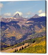 Mountain Splendor 2 Canvas Print