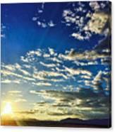 Mountain Sunset 3 Canvas Print