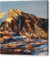 Mountain Sunsets Canvas Print