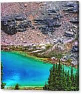 Mountain Tarn Canvas Print